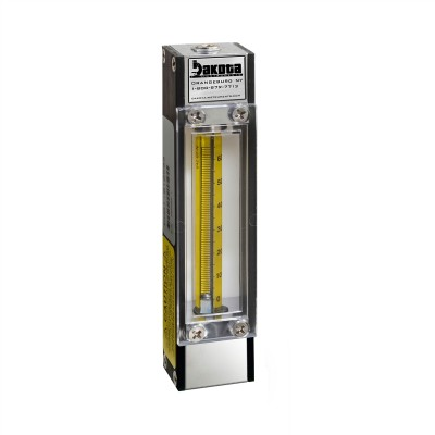 65mm Brass Flow Meter, No Valve