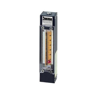 65mm Aluminum Flow Meter, No Valve