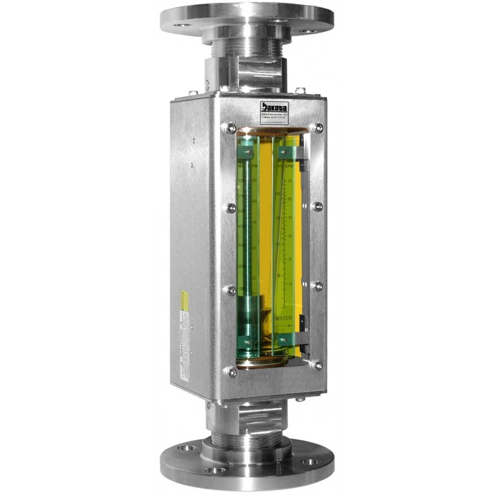 Inline Ph Tester : Industrial stainless steel flanged flow meter flange