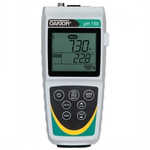 Oakton pH 150 Waterproof Portable Meter; Meter Only
