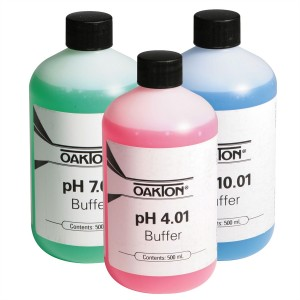 Calibration pH Buffer Pack, 500 ml each of 4.01 pH, 7.00 pH & 10.00 pH solutions (WD-05942-10)