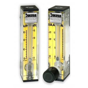Oxygen Flow Meter - Acrylic, Brass Fittings